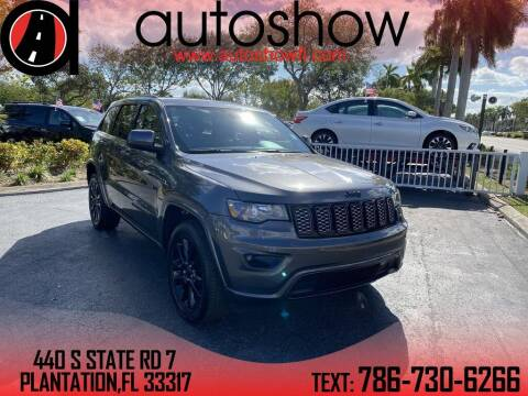 2018 Jeep Grand Cherokee for sale at AUTOSHOW SALES & SERVICE in Plantation FL