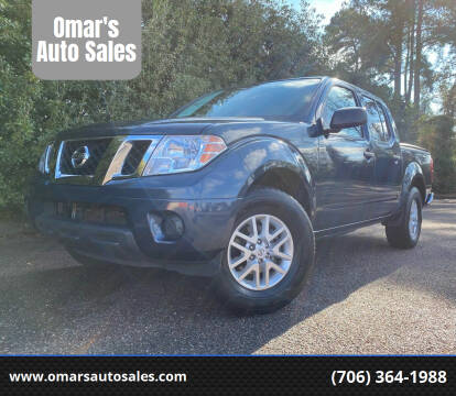 2019 Nissan Frontier for sale at Omar's Auto Sales in Martinez GA