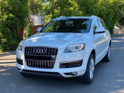 2014 Audi Q7 for sale at Lux Motors in Tacoma WA