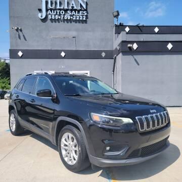 2019 Jeep Cherokee for sale at Julian Auto Sales, Inc. in Warren MI