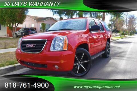 2009 GMC Yukon for sale at Prestige Auto Sports Inc in North Hollywood CA