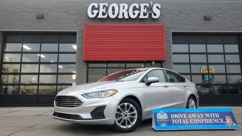2019 Ford Fusion for sale at George's Used Cars - Pennsylvania & Allen in Brownstown MI