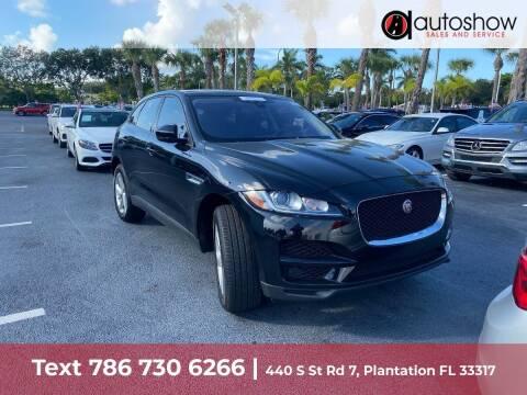 2018 Jaguar F-PACE for sale at AUTOSHOW SALES & SERVICE in Plantation FL