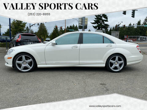 2009 Mercedes-Benz S-Class for sale at Valley Sports Cars in Des Moines WA