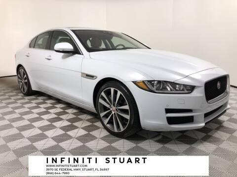 2017 Jaguar XE for sale at Infiniti Stuart in Stuart FL