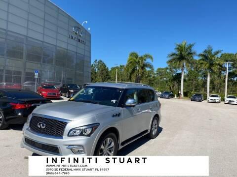 2017 Infiniti QX80 for sale at Infiniti Stuart in Stuart FL