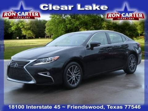 2016 Lexus ES 350 for sale at Ron Carter  Clear Lake Used Cars in Houston TX