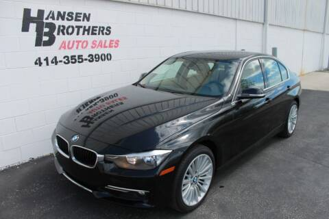 2015 BMW 3 Series for sale at HANSEN BROTHERS AUTO SALES in Milwaukee WI