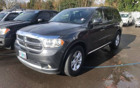 2011 Dodge Durango for sale at Universal Auto INC in Salem OR
