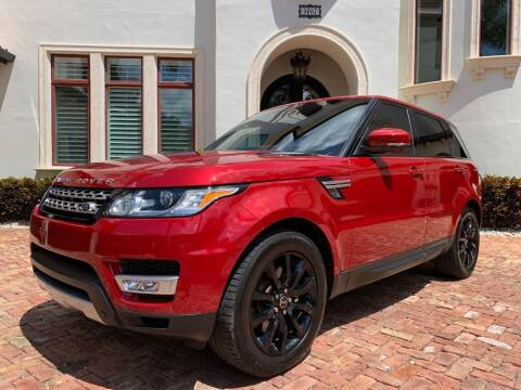 2015 Land Rover Range Rover Sport for sale at Mirabella Motors in Tampa FL