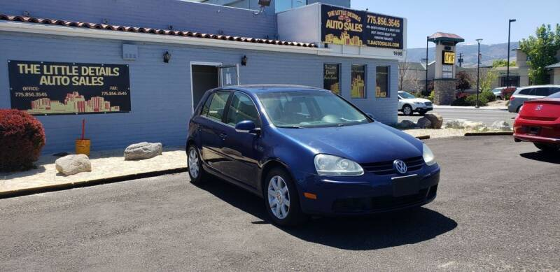 2006 Volkswagen Rabbit for sale at The Little Details Auto Sales in Reno NV