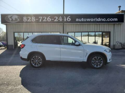 2014 BMW X5 for sale at AutoWorld of Lenoir in Lenoir NC
