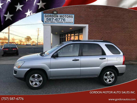 2009 Kia Sportage for sale at Gordon Motor Auto Sales Inc. in Norfolk VA