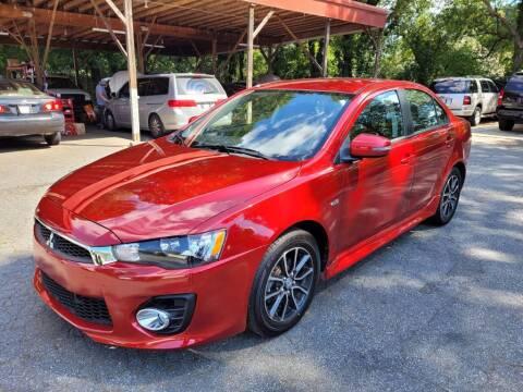 2017 Mitsubishi Lancer for sale at G & Z Auto Sales LLC in Marietta GA