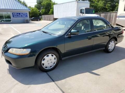 1999 Honda Accord for sale at Kell Auto Sales, Inc - Grace Street in Wichita Falls TX