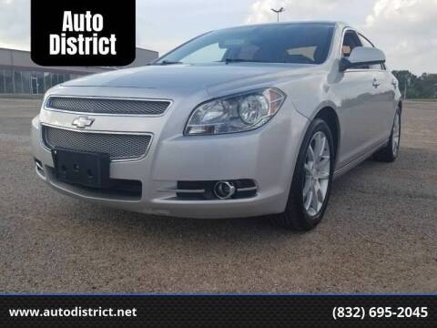 2011 Chevrolet Malibu for sale at Auto District in Baytown TX