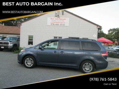 2014 Toyota Sienna for sale at BEST AUTO BARGAIN inc. in Lowell MA