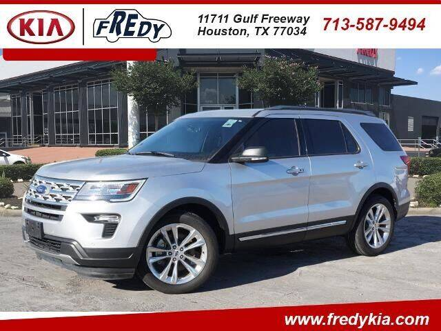 2019 Ford Explorer for sale at FREDY KIA USED CARS in Houston TX