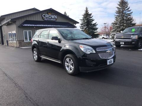 2011 Chevrolet Equinox for sale at Crown Motor Inc in Grand Forks ND