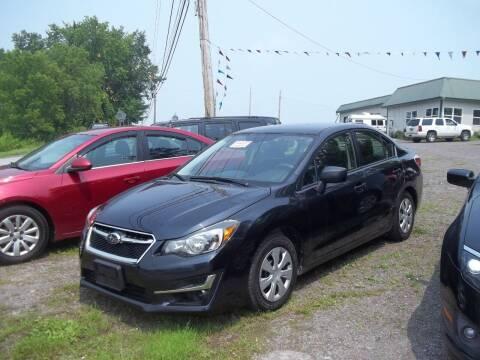 2016 Subaru Impreza for sale at Warner's Auto Body of Granville Inc in Granville NY