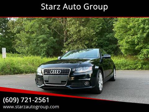 2011 Audi A4 for sale at Starz Auto Group in Delran NJ
