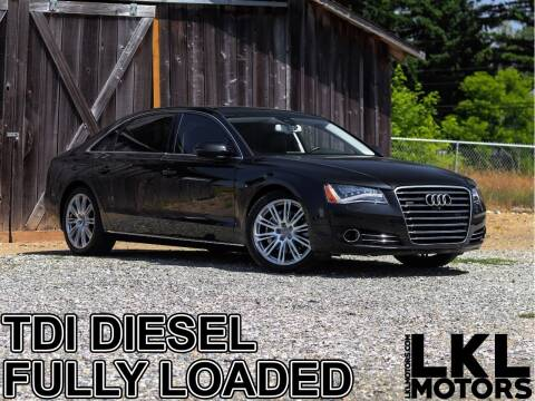 2014 Audi A8 L for sale at LKL Motors in Puyallup WA