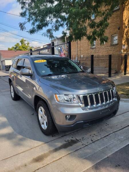 2012 Jeep Grand Cherokee for sale at MACK'S MOTOR SALES in Chicago IL
