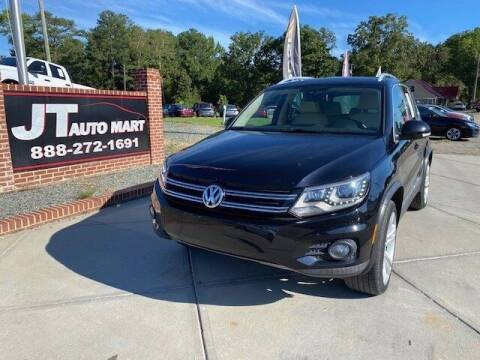 2013 Volkswagen Tiguan for sale at J T Auto Group in Sanford NC