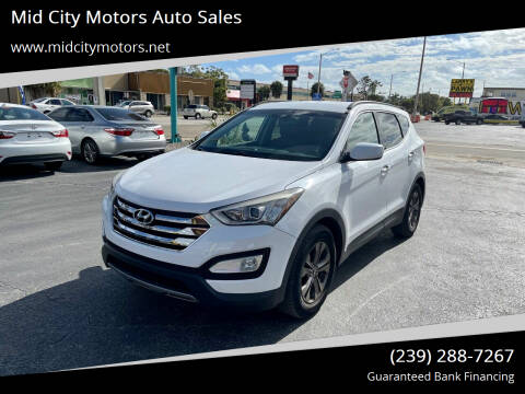 2014 Hyundai Santa Fe Sport for sale at Mid City Motors Auto Sales in Fort Myers FL
