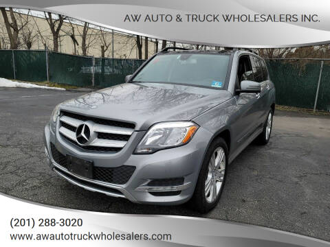 2015 Mercedes-Benz GLK for sale at AW Auto & Truck Wholesalers  Inc. in Hasbrouck Heights NJ