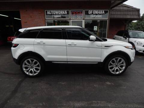 2012 Land Rover Range Rover Evoque for sale at AUTOWORKS OF OMAHA INC in Omaha NE