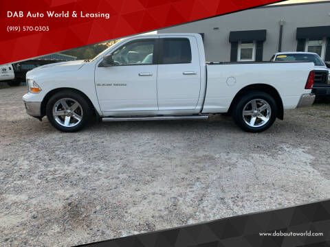 2011 RAM Ram Pickup 1500 for sale at DAB Auto World & Leasing in Wake Forest NC
