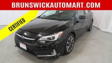 2020 Subaru Impreza for sale at Brunswick Auto Mart in Brunswick OH