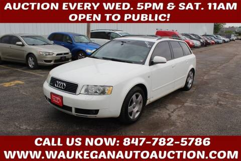 2004 Audi A4 for sale at Waukegan Auto Auction in Waukegan IL