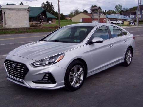 2018 Hyundai Sonata for sale at The Autobahn Auto Sales & Service Inc. in Johnstown PA