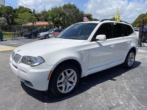 2007 BMW X3 for sale at EZ Own Car Sales of Miami in Miami FL