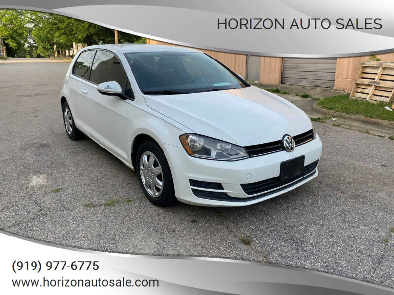 2015 Volkswagen Golf for sale at Horizon Auto Sales in Raleigh NC