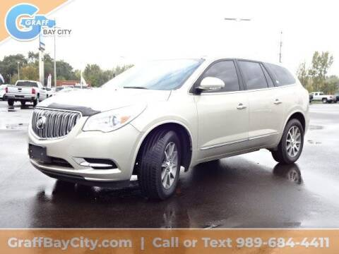 2015 Buick Enclave for sale at GRAFF CHEVROLET BAY CITY in Bay City MI