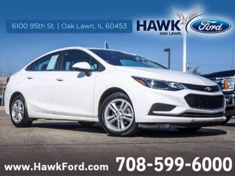 2017 Chevrolet Cruze for sale at Hawk Ford of Oak Lawn in Oak Lawn IL