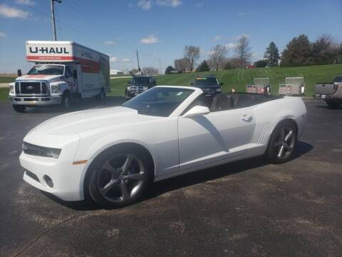 2013 Chevrolet Camaro for sale at Tumbleson Automotive in Kewanee IL