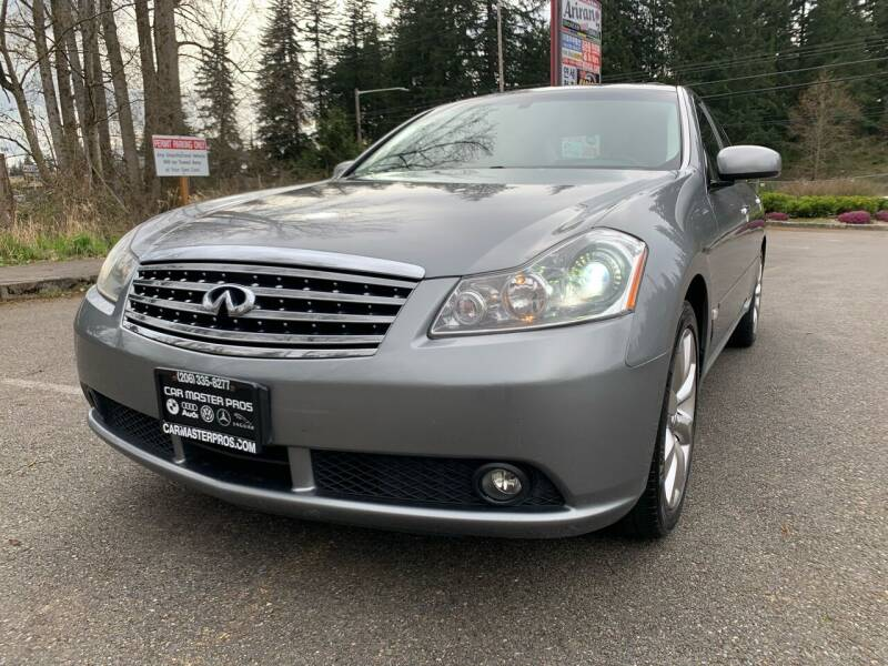2007 Infiniti M35 for sale at CAR MASTER PROS AUTO SALES in Lynnwood WA