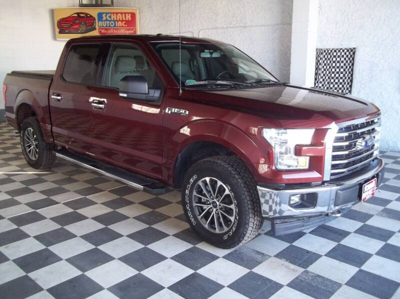 2017 Ford F-150 4x4 XLT 4dr SuperCrew 5.5 ft. SB - Albion NE