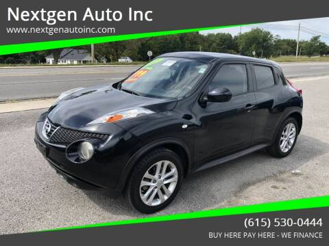 2011 Nissan JUKE for sale at Nextgen Auto Inc in Smithville TN