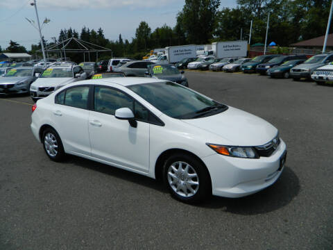 2012 Honda Civic for sale at J & R Motorsports in Lynnwood WA