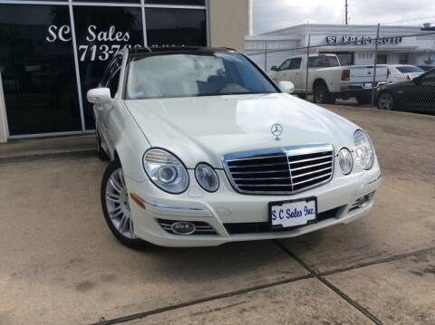 2008 Mercedes-Benz E-Class for sale at SC SALES INC in Houston TX