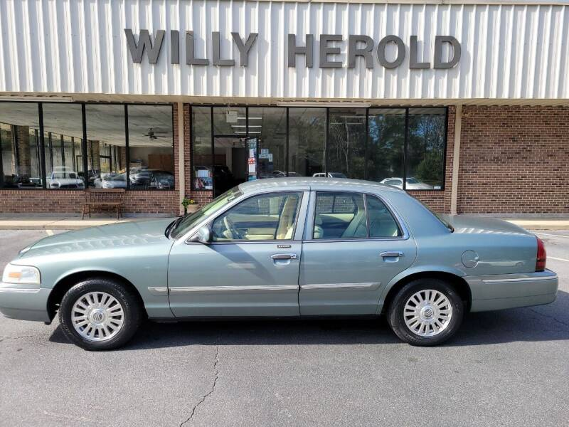 2006 Mercury Grand Marquis for sale at Willy Herold Automotive in Columbus GA