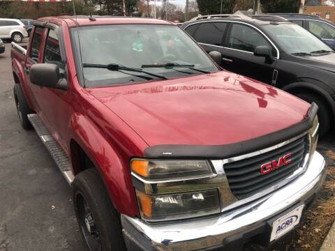 2006 GMC Canyon for sale at Right Place Auto Sales in Indianapolis IN
