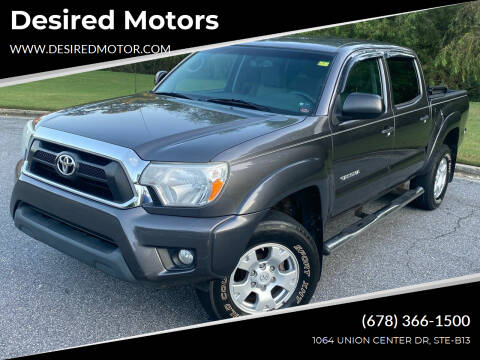 2013 Toyota Tacoma for sale at Desired Motors in Alpharetta GA