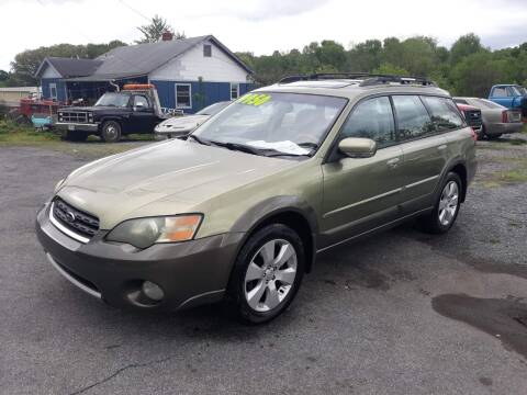 2005 Subaru Outback for sale at Rocket Center Auto Sales in Mount Carmel TN
