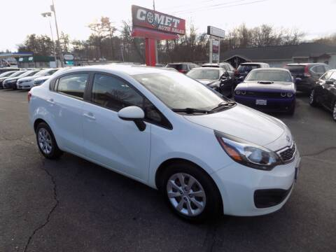 2012 Kia Rio for sale at Comet Auto Sales in Manchester NH